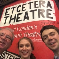 Photo taken at Etcetera Theatre by Geraint J. on 1/23/2017