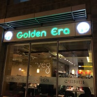 Photo taken at Golden Era Vegan Restaurant by Rommel R. on 1/2/2015