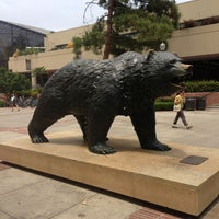 Photo taken at UCLA Bruin Statue by Brian V. on 7/5/2013