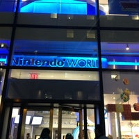 Photo taken at Nintendo NY by Aaron G. on 11/30/2012