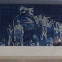 Photo taken at Metro Santa Apolónia [AZ] by Paulo S. on 11/14/2013