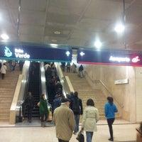Photo taken at Metro Alameda [VD,VM] by Paulo S. on 4/4/2013