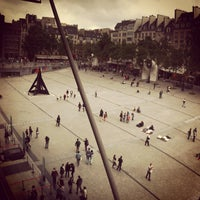 Photo taken at Place Georges Pompidou by Bobo C. on 6/22/2013
