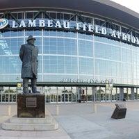 Photo taken at Lambeau Field by Brian S. on 8/19/2013