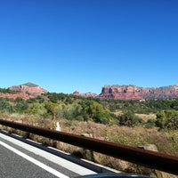 Photo taken at Red Rock Scenic Byway by Sherrie on 10/14/2013