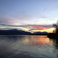 Photo taken at Chiemsee by Stefan K. on 12/24/2012