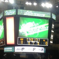 Photo taken at USF Sun Dome by Niki T. on 2/17/2013
