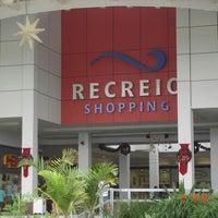 Photo taken at Recreio Shopping by Eduardo V. on 12/26/2012