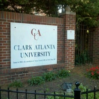 Photo taken at Clark Atlanta University by Nichole on 10/13/2012