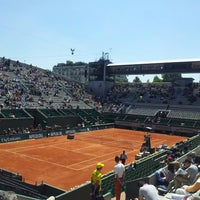 Photo taken at Court Suzanne Lenglen by Bertrand R. on 6/4/2013