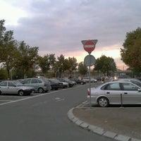 Photo taken at Parking Sava centra by lumen75 on 9/17/2012