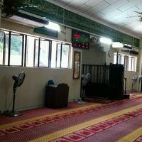 Photo taken at Masjid Al-Mustaqim by Mohd Izwan H. on 2/25/2017