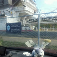 Photo taken at Welland Canal Lock 4 by Judy L. on 9/27/2013