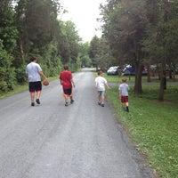 Photo taken at Drummer Boy Camping Resort by Michele K. on 7/5/2013