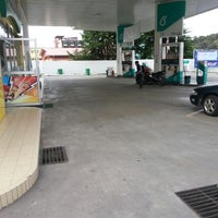 Photo taken at Petronas by Zahara S. on 1/8/2013