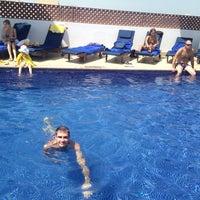 Photo taken at Pool Citymax Bur Dubai Hotel by Ivan K. on 8/2/2014