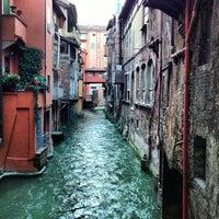Photo taken at La piccola Venezia - Finestra Sul Reno by Marco A. on 2/9/2013
