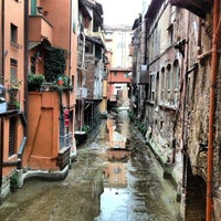 Photo taken at La piccola Venezia - Finestra Sul Reno by Marco A. on 12/15/2012