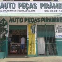 Photo taken at Auto Peças Pirâmide by Lucrécio A. on 2/15/2013
