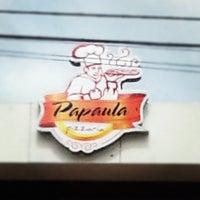 Photo taken at Papaula Pizzaria by Rafa on 11/18/2012