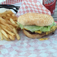 Photo taken at Down Town Burgers by Bruce on 3/24/2015
