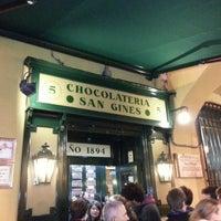 Foto tomada en Chocolatería San Ginés por Antonio G. el 11/17/2012