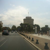 Photo taken at White Tower by Ioannis B. on 6/27/2013
