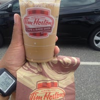 Photo taken at Tim Hortons / Cold Stone Creamery by JM H. on 9/1/2013