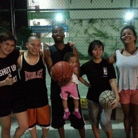 Photo taken at Basketball Court by Champagne T. on 8/13/2013