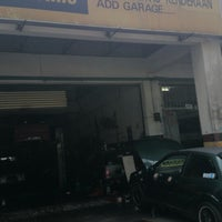 Photo taken at ADD GARAGE by Shameen McJester #. on 10/25/2013