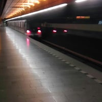 Photo taken at Metro =B= Radlická by David P. on 1/31/2014