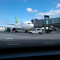 Photo taken at Riga International Airport (RIX) by Alex K. on 6/17/2013