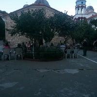Photo taken at Μονή Οσίου Δαβίδ Γέροντος by Apostolos G. K. on 8/12/2014