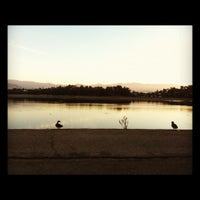 Photo taken at Silver Lake Reservoir by Carol L. on 10/19/2012