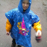 Photo taken at Детский Садик 486 by Aleksandra K. on 3/15/2013