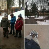 Photo taken at Детский Садик 486 by Aleksandra K. on 3/14/2013
