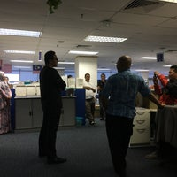 Photo taken at Celcom The Crest by Huzack on 8/25/2017