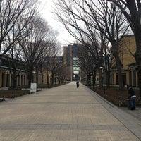 Photo taken at Aoyama Gakuin Univ. Sagamihara Campus by yokaroumon on 3/17/2013