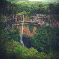 Photo taken at Chamarel Waterfall by Miss L. on 12/14/2012