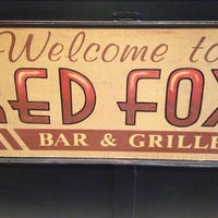 Photo taken at Red Fox Bar and Grille by Jess N. on 3/3/2013