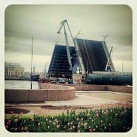 Photo taken at Palace Bridge by Lily W. on 5/25/2013