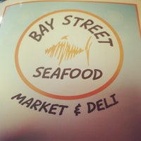 Photo taken at Bay Street Seafood Market & Grill by Wes C. on 6/4/2013