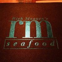 10/22/2012 tarihinde Chrissy I.ziyaretçi tarafından Rick Moonen RM Seafood'de çekilen fotoğraf