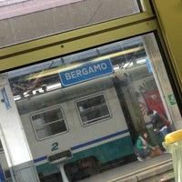 Photo taken at Stazione Bergamo by Marco on 9/30/2012