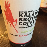 Photo taken at Kaladi Brothers Coffee by Jerry T. on 2/15/2016