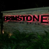 Photo taken at Brimstone Woodfire Grill by Terrell B. on 12/26/2012