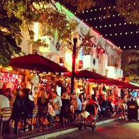 Photo taken at Espanola Way Village by Zamreen E. on 1/2/2013