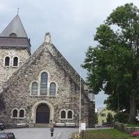Photo taken at Ålesund kirke by Alехander G. on 7/5/2013