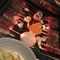 Photo taken at Cho Sun Gal Bi Korean BBQ & Sushi Bar by MK O. on 10/31/2017