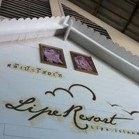 Photo taken at Lipe Resort by Nur Hafizah on 1/28/2013